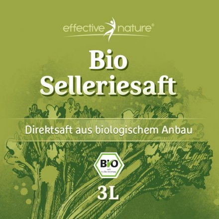 Selleriesaft - Bio - 3000ml