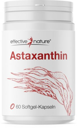Astaxanthin - Softgel-Kapseln - 60 Stk. - 38g