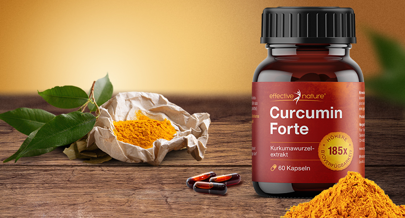 Product image Curcumin Forte from effective nature