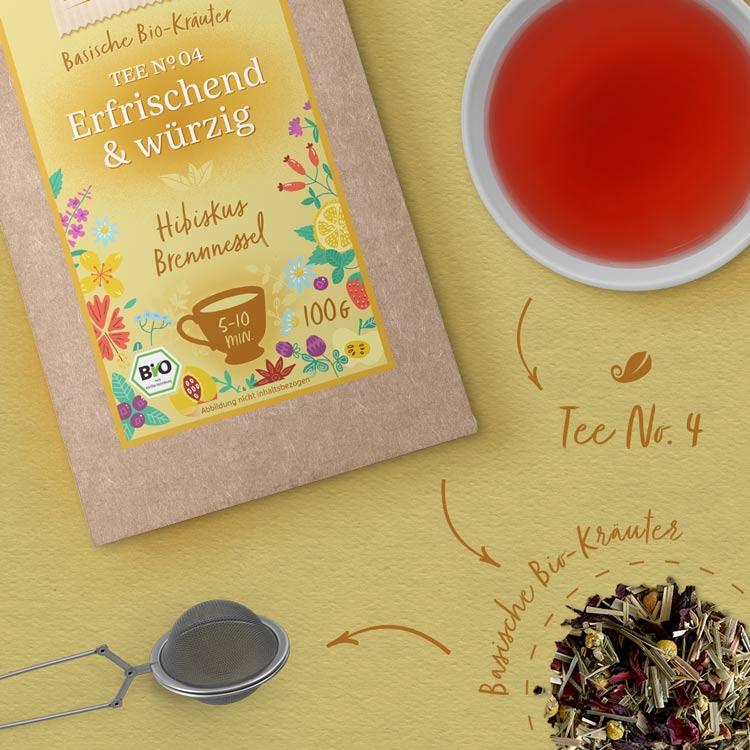 Tee No. 4 Erfrischend und würzig