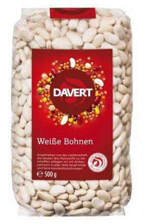 Weisse Bohnen - Davert - Bio - 500g