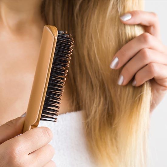Spülung für strapaziertes Haar