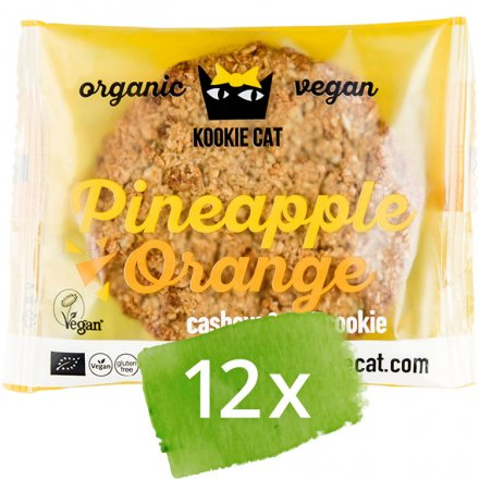Cookie Pineapple-Orange - Bio - 12 x 50g