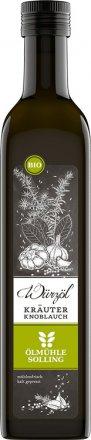Kräuter Knoblauch Würzöl - Bio - 500ml