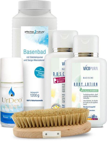 Basische Hautpflegekur