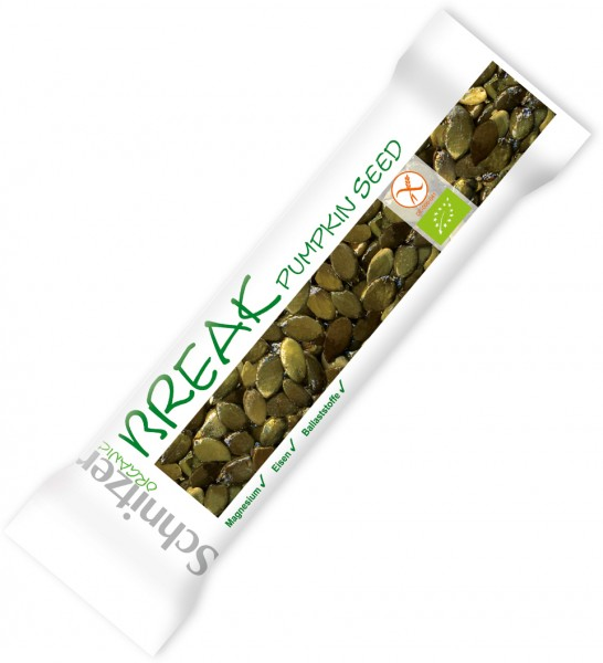 Riegel (Break) Pumpkin Seed - Glutenfrei - Bio