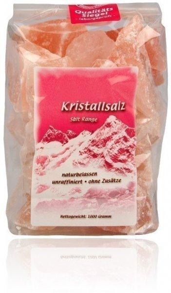 Kristallsalz Brocken für Sole 1000g