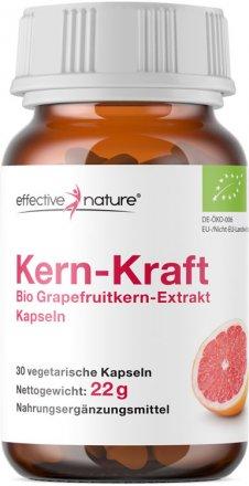 Grapefruitkernextrakt Kapseln - Bio - 30 Stk. - 22g
