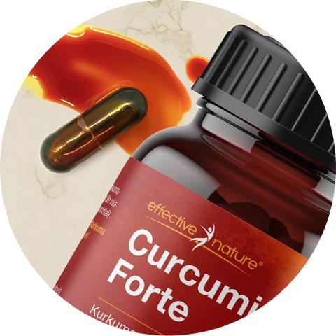 Flüssiges Curcumin