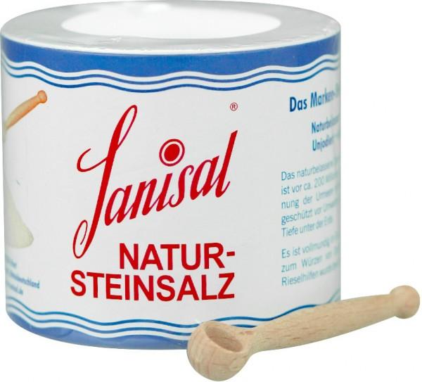 Sanisal Natur-Steinsalz mit Dosierlöffel