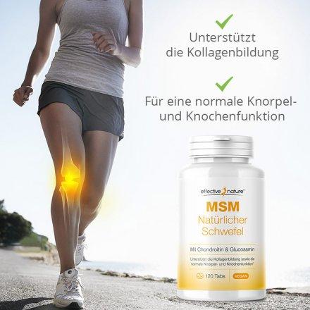 MSM Chondroitin & Glucosamin - 120 Tabletten