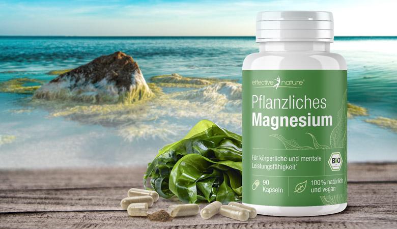 Pflanzliches Bio-Magnesium