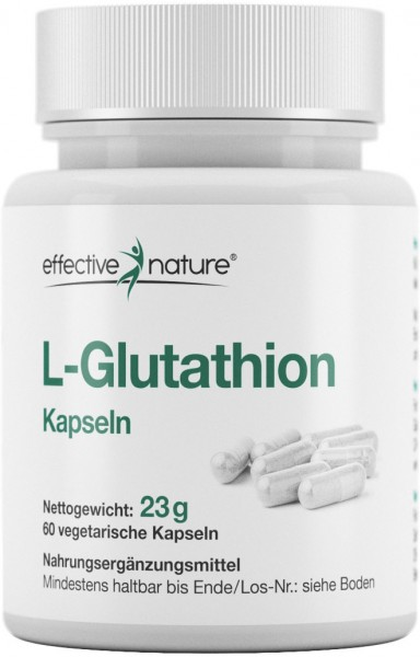 L-Glutathion Kapseln - 60 Stk. - 23g