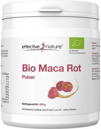 Rotes Maca Pulver - Bio - 400g