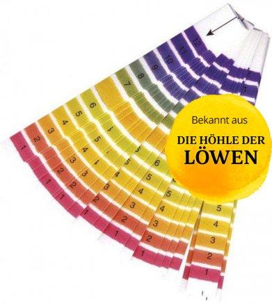 20 pH-Streifen für Gärgetränke mit optimierter Skala