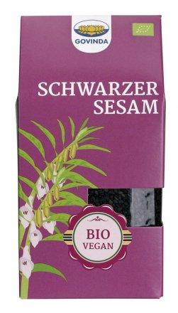 Schwarzer Sesam ganz - Govinda - Bio - 200g