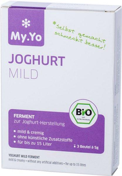 Joghurtferment mild - Bio - 3 x 5g