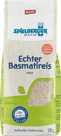 Echter Basmati Reis braun - Bio - 500g