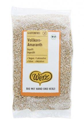 Gepuffter Vollkorn-Amaranth - in Bio-Qualität
