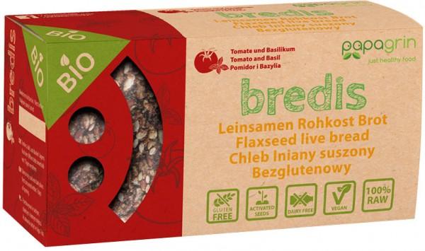 Bredis Tomate-Basilikum - Bio - 70g