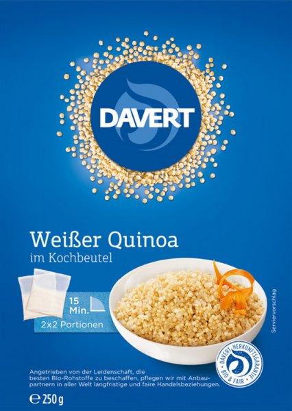 Weisser Quinoa im Kochbeutel - Bio - 250g
