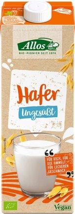 Ungesüsster Hafer-Drink in Bio-Qualität
