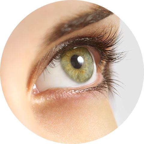 Unterstützung der normalen Augensehkraft