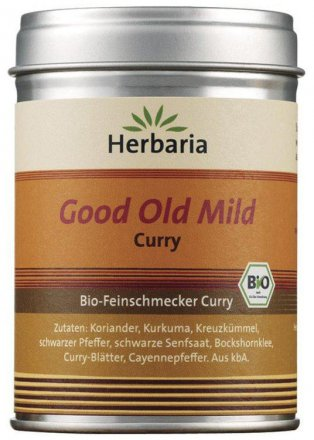 Good Old Mild Curry - Bio - 80g - Herbaria