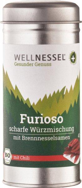 Brennnessel-Würzmischung Scharf (Furioso) - Bio - 40g
