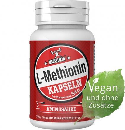 Maskelmän L-Methionin - 90 Kapseln
