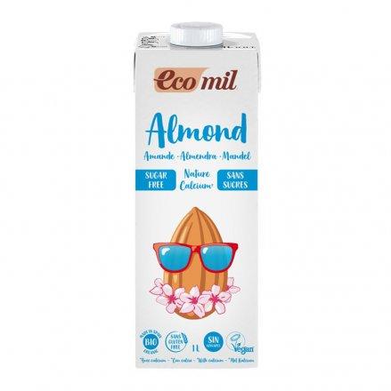 Mandel Drink Nature Calcium zuckerfrei - EcoMil - Bio - 1000ml