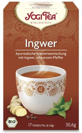 Ayurvedische Tee-Mischung mit Ingwer und Pfeffer