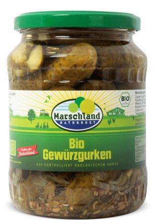 Gewürzgurken - Marschland Naturkost - Bio - 670g