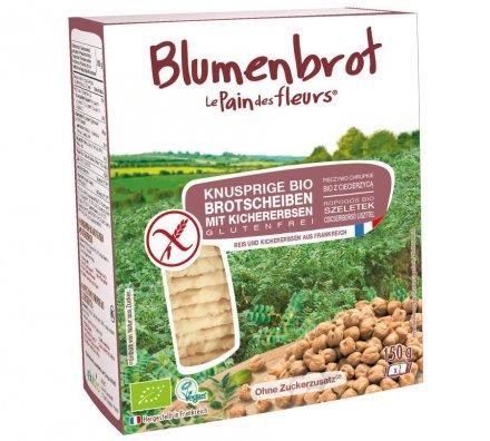 Blumenbrot Kichererbsen - Bio - 150g
