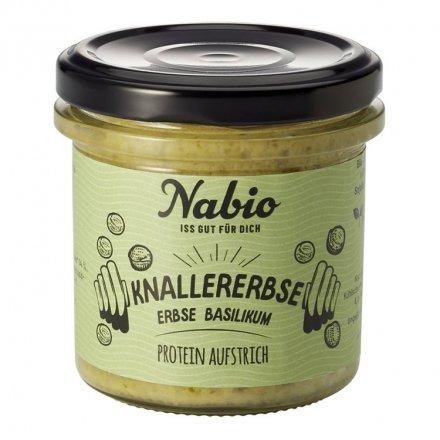 Protein-Aufstrich Erbse Basilikum - Nabio - Bio - 140g