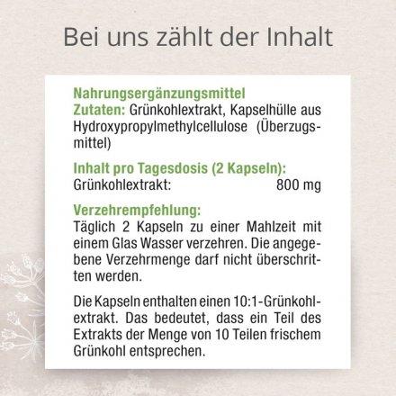 Grünkohl Extrakt