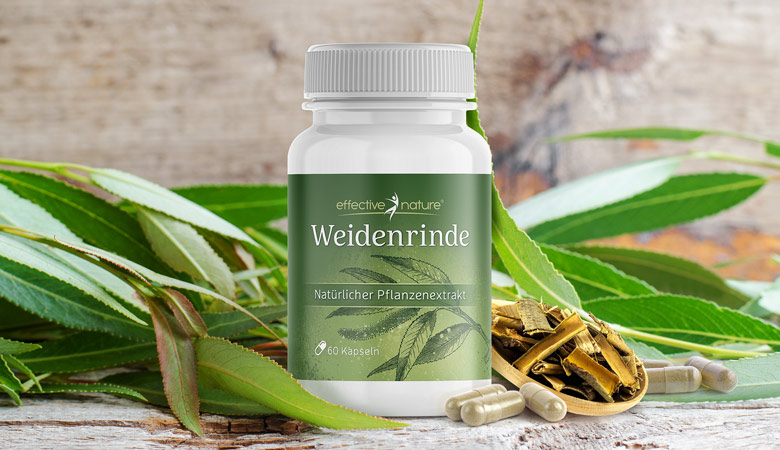 Weidenrinde von effective nature