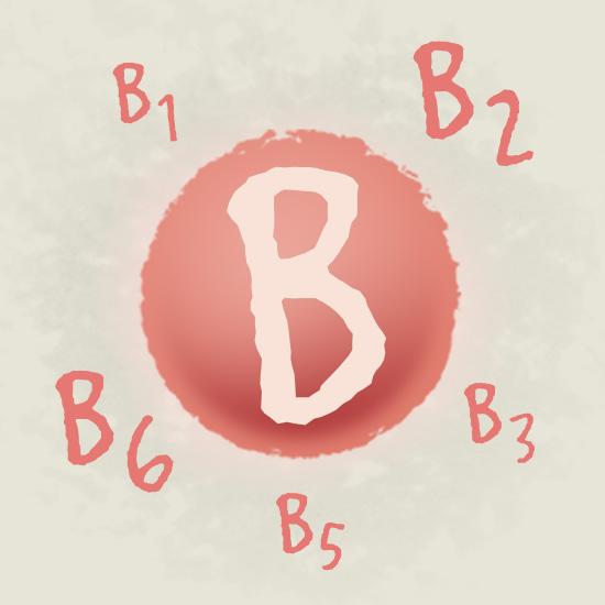 Wichtige B-Vitamine in einer Kapsel