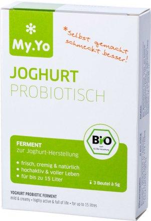 Joghurtferment Probiotisch - Bio - 3 x 5g