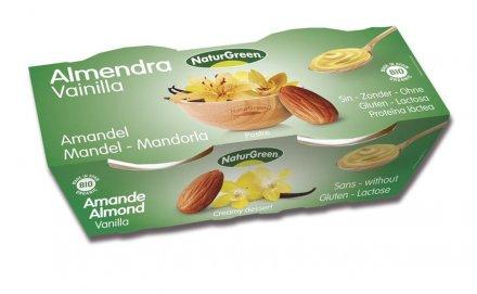 Mandeldessert Vanille - NaturGreen - Bio - 2 x 125g