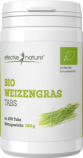 Weizengras Tabletten - Bio - 450 Stk.