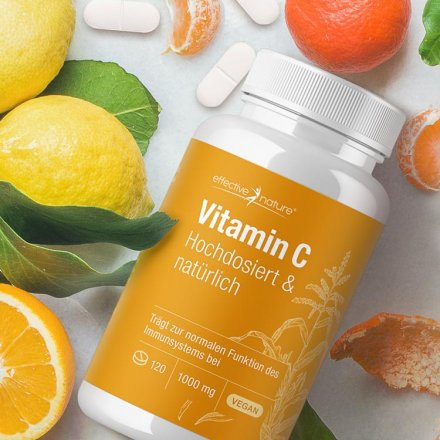Highly Dosed Vitamin C