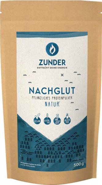 Nachglut - Pflanzliches Proteinpulver - Natur - 500g