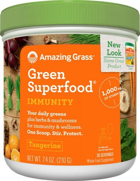 Amazing Grass - Immunity Tangerine - 210g