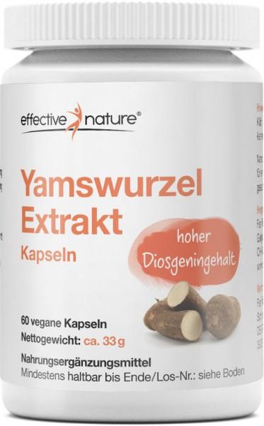 Yamswurzel Extrakt Kapseln - 60 Stk. - 33g