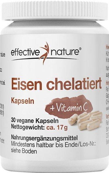 Eisen chelatiert Kapseln - 30 Stk. - 16g