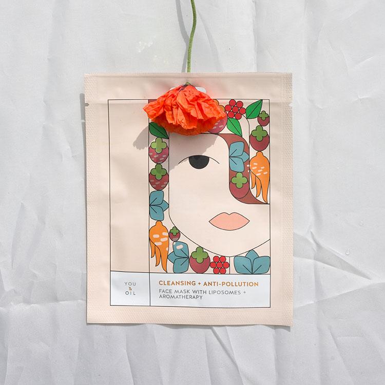 Gesichtsmaske Reinigung von You & oil