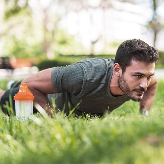 Hanfprotein für Sportler