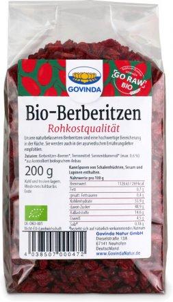Berberitzen-Beeren - Bio - 200g