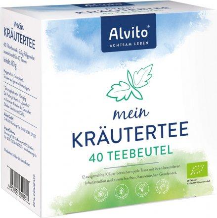 Kräutertee - Bio - 40 Teebeutel